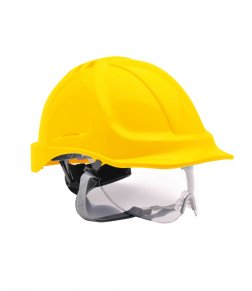 Hard hat with visor PW040 by Portwest
