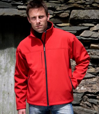 Result softshell drivers jacket