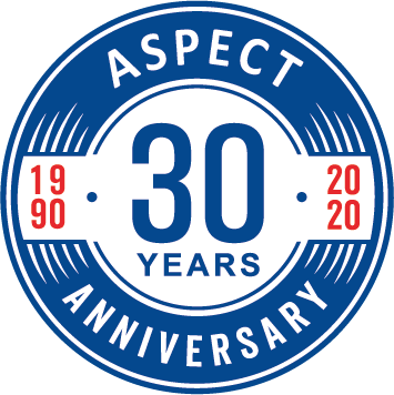 Aspect Corporate Clothing 30 years anniversary
