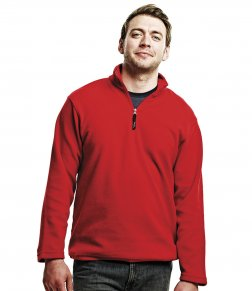 RG134 Zip Neck Fleece