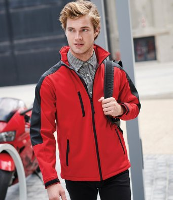 softshell jackets with embroidered logo