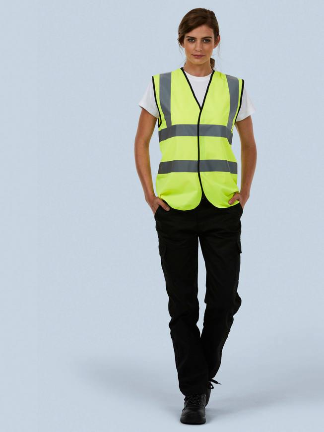 UC801 Uneek hi-viz waistcoat
