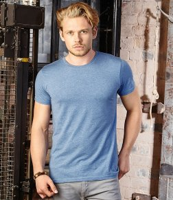 mens t-shirts with printed or embroidered logos