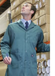 workwear lab & warehouse coat logo embroidered or printed